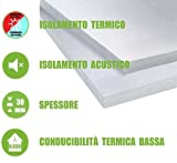 ITALFROM - Pannelli da 3 cm EPS 100 Polistirene Isolamento Termico Polistirolo (Confezione 10 Pezzi) ...