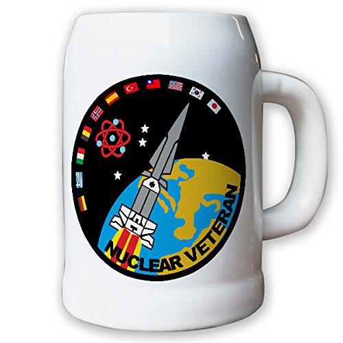 Krug chope 0,5 l /-nuclear vétéran hercules fusée atom armes nucléaire uS army terre fission nato blason badge #logo 8666 b