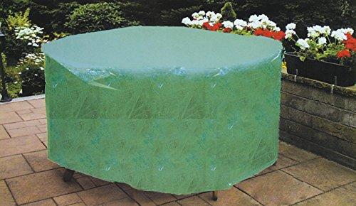 Luxurygarden - Couverture Drap Housse de Table Ovale de Jardin et extérieur Dimensions 230 x 110 x 70H