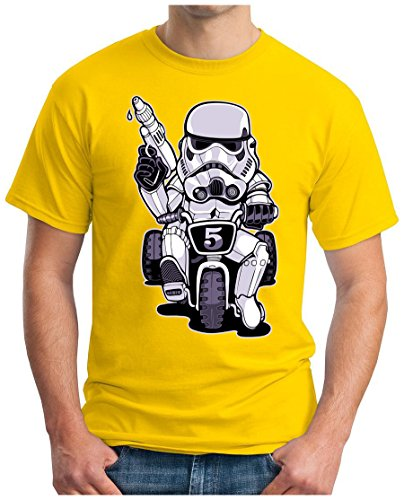 OM3 - TROOPER-RIDER - T-Shirt, S - 5XL Gelb