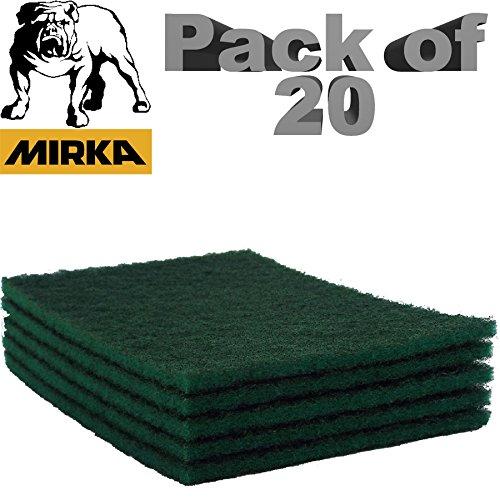 mirka-mirlon-scotchbrite-clean-finishing-hand-pads-green-fine-p320-fine-grit-150mm-x-230mm-150x230mm