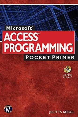 Microsoft Access Programming Pocket Primer by Julitta Korol (2015-04-29)