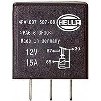 HELLA 4RA 007 507-081 Relé, corriente de trabajo, 12V, con resistencia