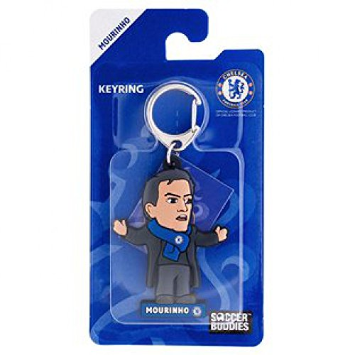 Chelsea Officially Licensed Soccer Buddies PVC Football Keyring - Jose Mourinho