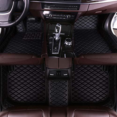 Muchkey Auto Fußmatten Automatten Autoteppiche passt für CR-V 2007-2011 rutschfeste Abnutzung Bodenmatten-Leder Material(Schwarz) (Auto-fußmatten Honda Crv)