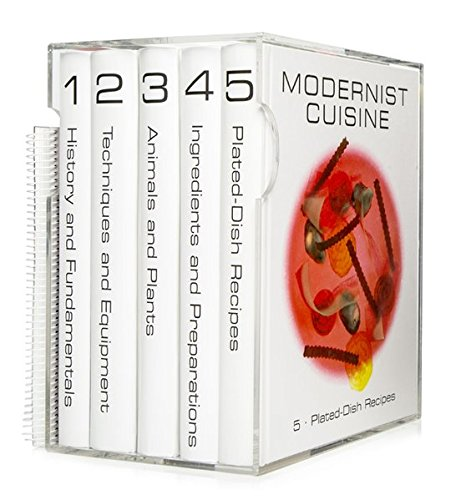 Modernist Cuisine: The Art and Science of Cooking (6 Volume Set)