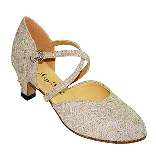 Lady Modern Dance Shoes/Gesellschaftstanz/Der Walzer Tanzschuhe/Weiche Unterseite niedrige Tanzschuh A