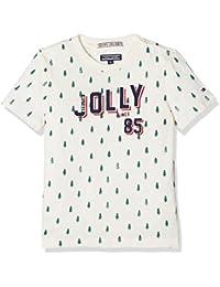 Tommy Hilfiger Boy's H Festive AOP CN Tee S/S T-Shirt