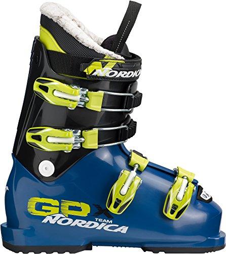 Nordica Kinder GPX TEAM Skischuhe blau 24.5 -
