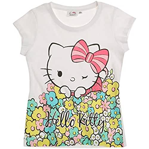 Hello Kitty Chicas Camiseta manga corta 2016 Collection - Blanco