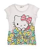 Hello Kitty Mädchen T-Shirt - weiß - 104