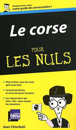 Le corse - Guide de conversation Pour les nuls par Jean CHIORBOLI