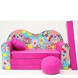 H13 S Mini sofá infantil con diseño de café con diseño de bebé sofá juego de cojines para colchón suave de terciopelo diferentes coloures