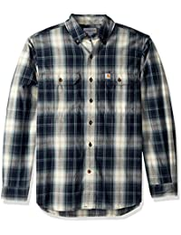 3e5ae827b61 Carhartt Men s Fort Plaid Long Sleeve Shirt