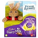 Cadbury Dairy Milk Flopsy Rabbit Toy and Easter Chocolate...