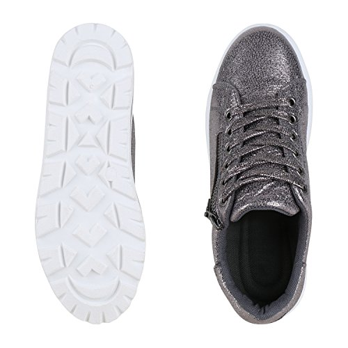 napoli-fashion , Sneakers Basses femme Gris