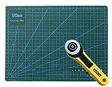 A3 - Deluxe - Natte de découpe - double-côté + Cutter rotatif 45MM