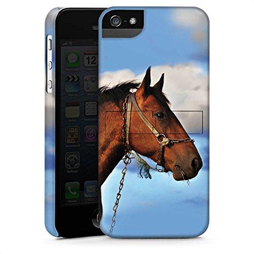 Apple iPhone X Silikon Hülle Case Schutzhülle Pferd Hengst Stute Premium Case StandUp