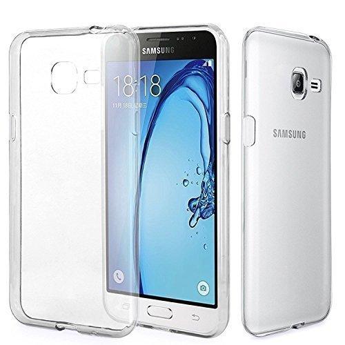 Connect Zone S Ligne Housse Étui Silicone Gel pour Samsung Galaxy A3 (2017) A320F avec protection d'écran et Chiffon De Polissage