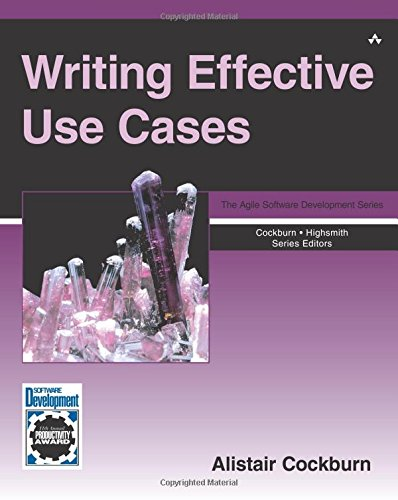 Writing Effective Use Cases (Crystal Series for Software Development) (Agile Software Development Series) por Alistair Cockburn Cockburn
