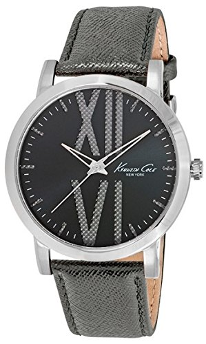 Wristwatch KENNETH COLE WATCH - ELEGANCE SUNRAY ANTRACITE DIAL WITH TEXTURE S/S GENT LEATHER STRAP 3 ATM 44mm 10014816