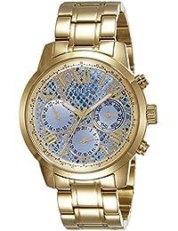 Guess Damen-Armbanduhr Analog Quarz Edelstahl W0330L13