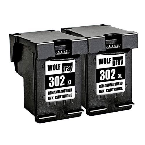 Wolfgray Remanufacturado HP 302 XL 302 Cartuchos Tinta
