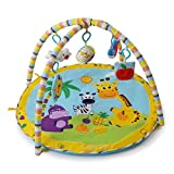 Best Lamaze Baby Gyms - CHANG Baby Crawling Game Pad,Baby Toys,Multifunction Music Gym Review