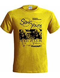 SONIC YOUTH DINOSAUR GIG POSTER MENS T SHIRT