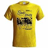 Pinchos Sonic Youth Dinosaur GIG Poster Mens T Shirt