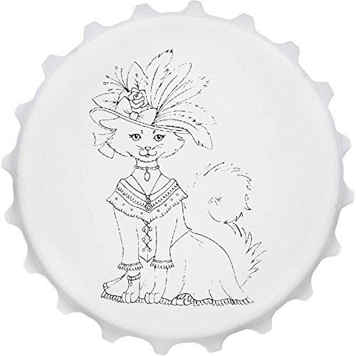 tüm & Hut' Cap Förmiger Flaschenöffner Kühlschrankmagnet (BO00003629) (Katze Und Der Hut Kostümen)