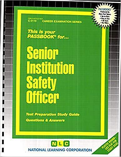 SENIOR INSTITUTION SAFETY OFFI (Career Examination)