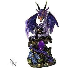Nemesis Now Figurine fantasy Dragon Violet 13cm