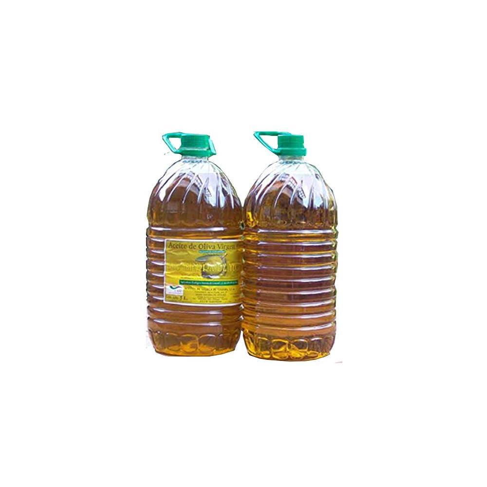 Olivenl Virgin Extra 5 Liter Erste Kaltpressung Diverse Erste Preise Andalusienspanien Sortenrein Hojiblanca Spitzenqualitt Mild Mit Leichter Schrfe Im Nachklang Dieses Olivenl Kann Auch Zum Grillen B