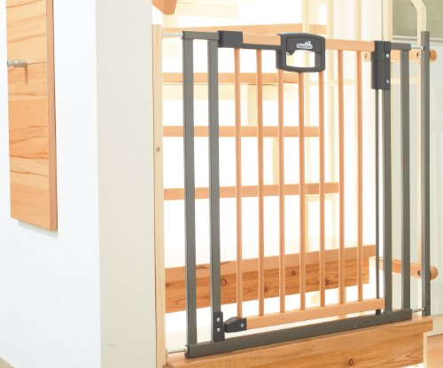 Treppenschutzgitter Easylock Wood 2793 zur Montage am Treppengeländer
