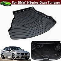 1pcs Pelle Nuovo Tappetino posteriore per bagagliaio auto Carico Antiscivolo vassoio bagagliaio antiscivolo, su misura per BMW Serie 3Gran Turismo 20132014201520162017 - Serie Oem Boot