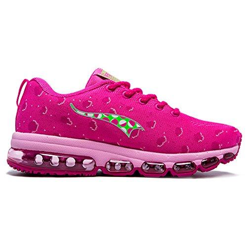 Onemix Air Uomo Donna Scarpe da Corsa Sportive Running Sneakers Casual all'Aperto Pink