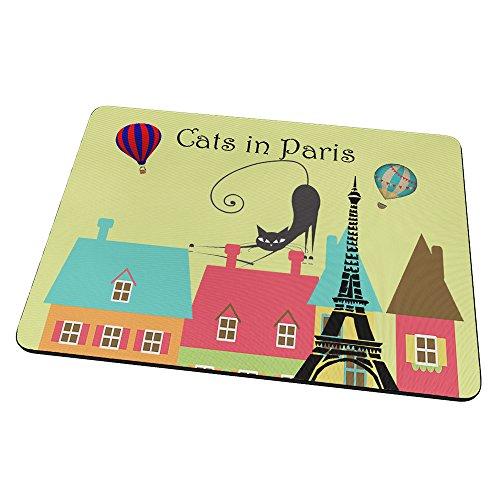 candy-world-gatti-a-parigi-mouse-pad-tappetino-per-mouse-mouse-mat-con-immagine-colorato-antiscivolo