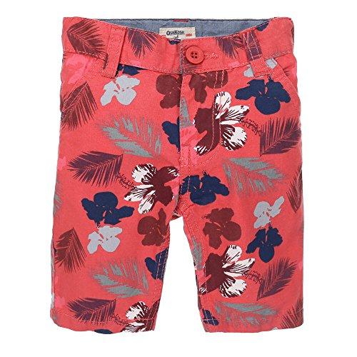 Mädchen Shorts, OSHKOSH Mädchen Hose Shorts Caprihose , Rot, in Größe 92/98 (Kinder-shorts Oshkosh)