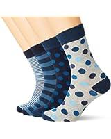 Jack & Jones Herren Socken Blau Blue Wing Teal