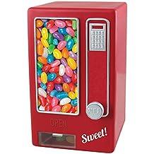 Asab de los niños rojo Retro estilo dispensador de dulces, diseño de máquina expendedora Snack