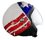 Origine helmets Jethelme Mio Stars and Stripes, Mehrfarbig, Größe XS
