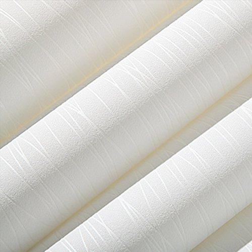 Zhzhco Einfache Und Moderne Streifen Nonwoven Wallpaper Wallpaper Wallpaper Dicke Reine Pigment Schlafzimmer Wohnzimmer-Tv An Der Wand Im Hintergrund-Papiere (0,53 M*10M)