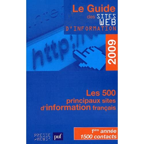 Le guide des sites web d'information 2009