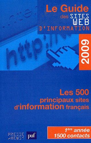 Le guide des sites web d'information 2009