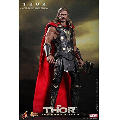 Hot Toys Movie Master Piece: Thor The Dark World - Thor Light Asgardian Armor Ver. (Hot Thor Toys)