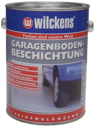 farbe garagenboden Wilckens 11672200080 Garagenbodenbeschichtung RAL 7032, 2,5 L, kieselgrau