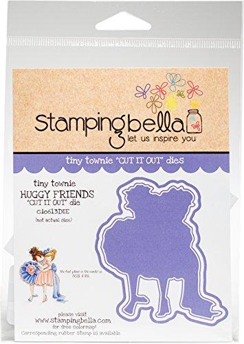 Unbekannt Stamping Bella Cut It Out stirbt Tiny Townie-Huggy Friends, Metall, Mehrfarbig, 14.61X 11.18X 0,15cm -