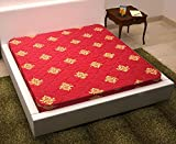 #10: Happy Life 5 Inch Double / Queen Bed Size Medium Coir Mattress ( Maroon, 75 X 60 X 5 inches)