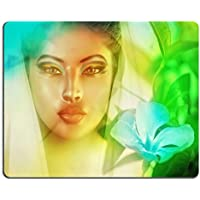 Liili mouse pad Natural rubber Mousepad Image ID: 24865993 Surreal Womans